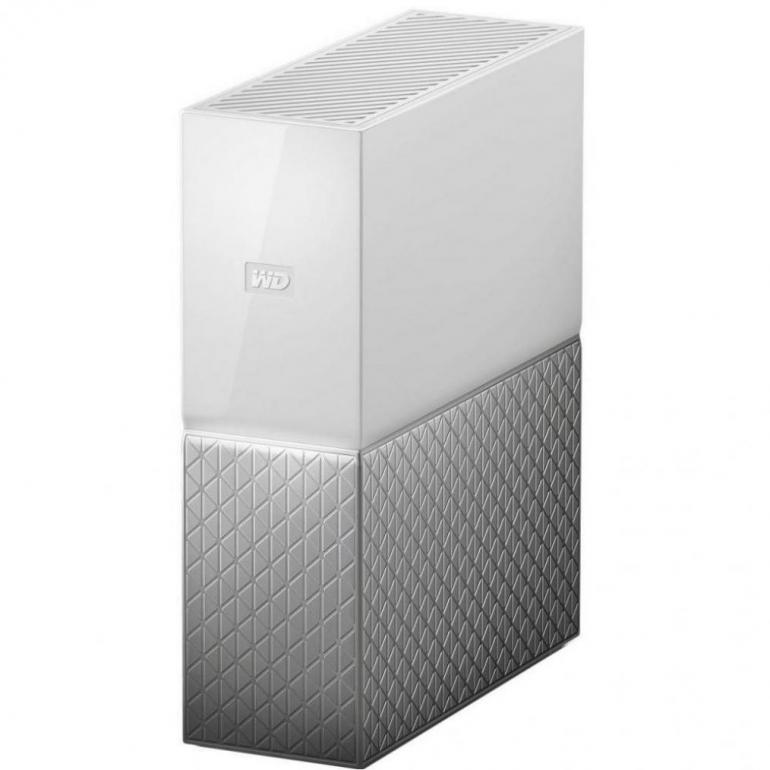 Внешний HDD Western Digital My Cloud Home 8TB USB 3.0 White
