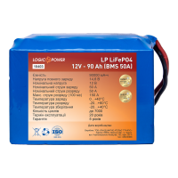 Аккумулятор LogicPower Lifepo4 12V-90Ah (BMS 50A)