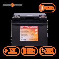 Аккумулятор LogicPower Lifepo4 12V-50Ah (BMS 50A) пластик