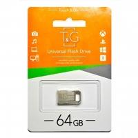 USB накопитель T&G 113 Metal series 64GB Silver