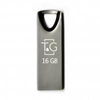 USB накопитель T&G 117 Metal series 16GB Silver Black