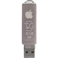 USB накопитель T&G 004 Metal series 32GB USB 3.0/Lightning Silver