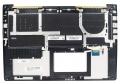 Клавиатура Asus UX51V UX51VZ коричневая/металик в корпусе подсветка