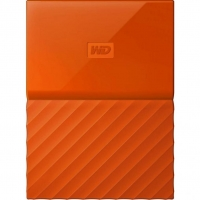 Внешний HDD Western Digital My Passport 3TB USB 3.0 Black Orange