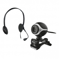 Web-камера Trust Chat & VoIP Pack Exis Black