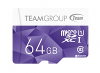 Карта памяти Team microSDXC 64GB UHS-1 Color Purple