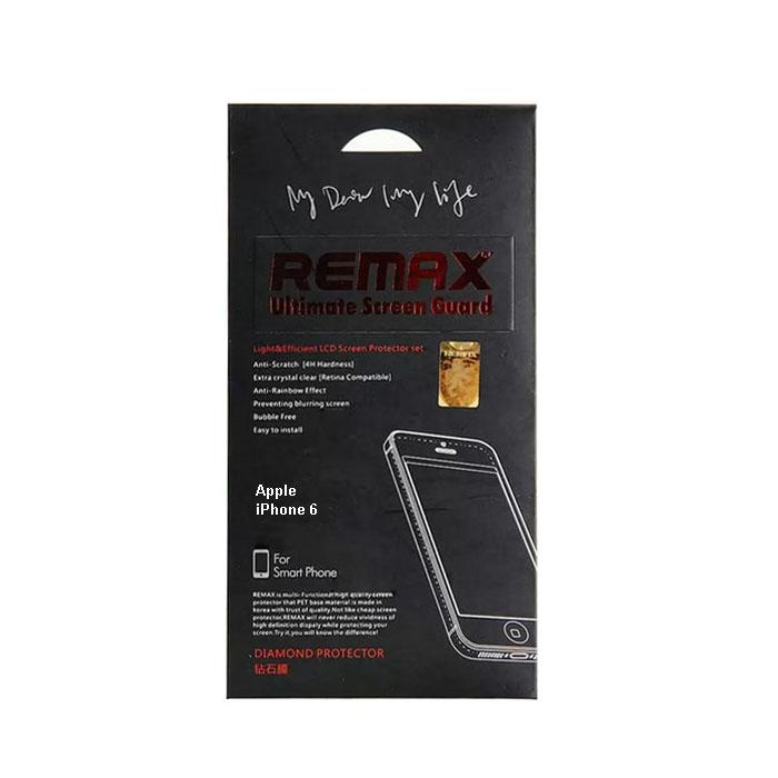 Защитная пленка Remax для iPhone 6 (front) - бриллиантовая