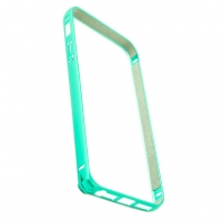 Бампер Devia для iPhone 5/5S/5SE Buckle Curve Green