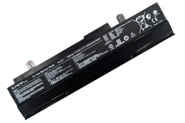 Батарея Elements PRO для Asus Eee PC 1015b 1015p 1016p 1215b 1215n 1215p 1215t vx6 10.8V 4400mAh
