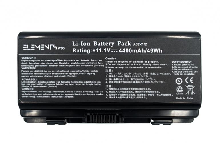 Батарея Elements PRO для Asus T12 X51 A32-X51 11.1V 4400mAh