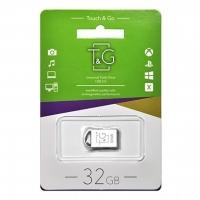 USB накопитель T&G 107 Metal series 32GB Silver