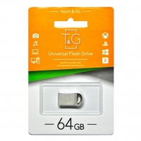 USB накопитель T&G 107 Metal series 64GB Silver
