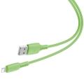 Кабель Baseus Colourful для iPhone/iPad Lightning 2.4A 1.2M Зеленый