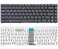 Клавиатура Asus Eee PC 1201 1215 1225 черная без рамки Прямой Enter