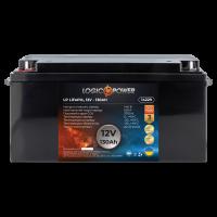 Аккумулятор для автомобиля литиевый LogicPower Lifepo4 12V-130Ah (+ слева, прямая полярность) пластик