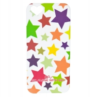 Чехол ARU для iPhone 5/5S/5SE Mixed Stars White