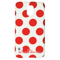 Чехол ARU для Samsung Galaxy S5 Cutie Dots Red Dots