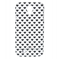 Чехол ARU для Samsung Galaxy S4 Hearts Black
