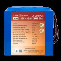Аккумулятор LogicPower Lifepo4 12V-30Ah (BMS 50A/25A)