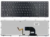 Клавиатура Sony SVE15 SVE17 черная Подсветка