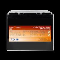 Аккумулятор LogicPower Lifepo4 12V-100Ah (BMS 80A/40А) пластик