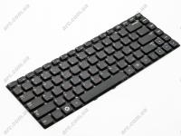 Клавиатура для ноутбука Samsung NP300E4A NP300V4A черная без рамки Прямой Enter