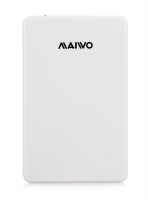 "Карман Maiwo для HDD 2.5"" SATA USB 3.0 White"
