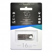 USB накопитель T&G 117 Metal series 16GB Silver