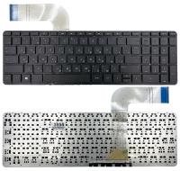 Клавиатура для ноутбука HP Pavilion 15-P 15Z-P 17-F 17-P Envy 15-k 17-k m7-k черная без рамки Прямой Enter