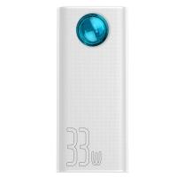 Внешний аккумулятор Baseus Amblight 30000mAh 33W (PD3.0+QC3.0) Белый