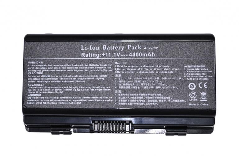 Батарея для ноутбука Asus T12 X51 A32-X51 11.1V 4400mAh