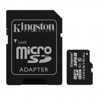 Карта памяти Kingston microSDHC 32GB Class 10 UHS-1 Industrial + SD адаптер