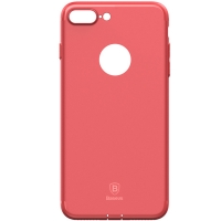 Чехол Baseus для iPhone 8 Plus/7 Plus Simple Solid Red