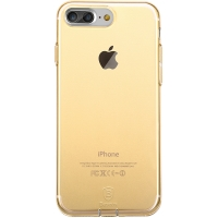 Чехол Baseus для iPhone 8 Plus/7 Plus Simple Pluggy Gold