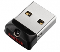 USB накопитель SanDisk Cruzer Fit 64GB Black
