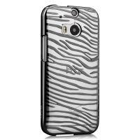 Чехол Vouni для HTC One M8 Glimmer Zebra Black