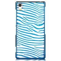 Чехол Vouni для Sony Xperia Z2 Glimmer Zebra Blue