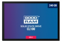 "Накопитель SSD Goodram 2.5"" 240GB CL100 GEN.2 SATA III TLC"