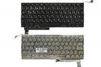 """Клавиатура для ноутбука Apple MacBook Pro 13"""" A1286 черная без рамки Г-образный Enter"""