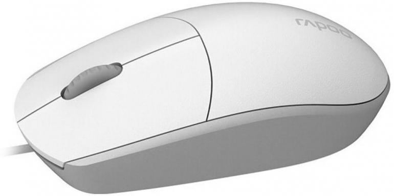 Мышь Rapoo N100 USB White