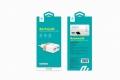 Сетевое зарядное устройство Devia RockWall Dual USBx2 2.4A/1A White/Silver