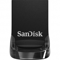 USB накопитель SanDisk Ultra Fit 64GB Black