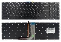 Клавиатура MSI GT62 GT72 GE62 GE72 GS60 GS70 GL62 GL72 GP62 GP72 CX62 WS60 черная без рамки подсветка RGB Прямой Enter