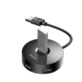 USB Hub Baseus Round Box USB3.0 to USB3.0*1 + USB2.0*3 Черный
