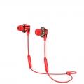 Беспроводные наушники Baseus Encok S10 Dual Moving-coil Красный
