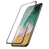 Защитное cтекло Baseus для iPhone X, iPhone Xs, iPhone 11 Pro, 0.2mm, Черный