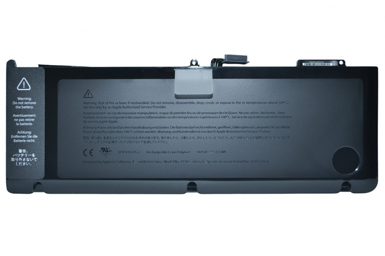 Батарея Apple MacBook Pro 15 A1286, MC118, MC721, MC723  10.95V 7100mAh