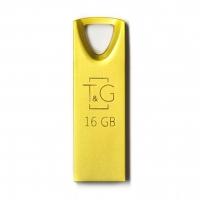 USB накопитель T&G 117 Metal series 16GB Gold
