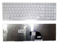 Клавиатура Sony SVE15 SVE17 белая