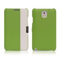 Чехол iCarer для Samsung Galaxy Note 3 Colorblock Green/White